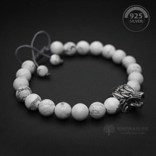 Ghost Wolf Bracelet