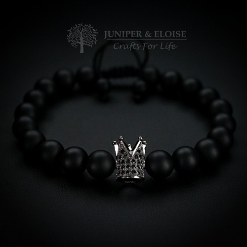 COUPLE BRACELETS WITH CROWN