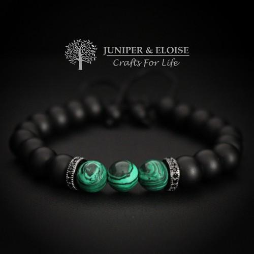 Couple Bracelets With Zircon Spacers