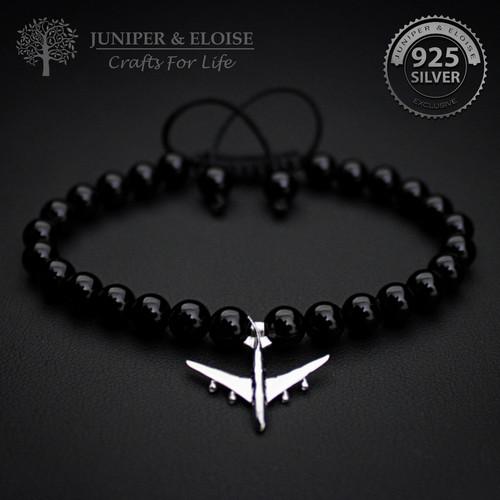 Silver Plane Bracelet